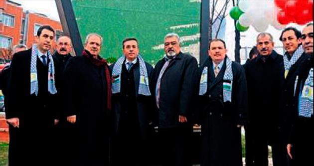 Filistin Özgürlük Anıtı için açılış