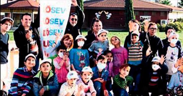 Özel çocuklara 'moral' projesi