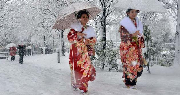Japonya'da kar fırtınası: 11 ölü
