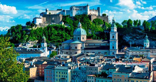 Çikolata kokulu Salzburg