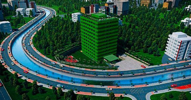 Dünyanın ilk ve canlı bina projesi: Clubbahçe