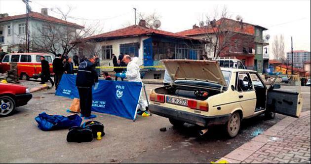 Ankara'da pompalı dehşeti