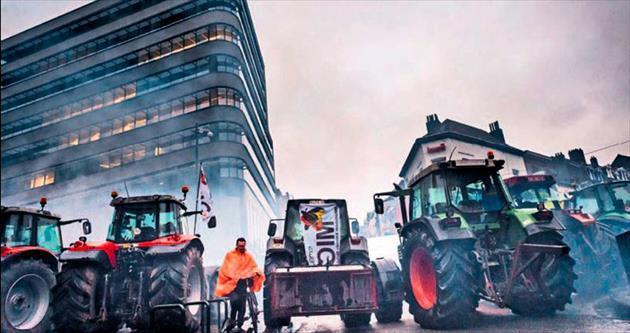 AB-ABD ticaret anlaşması çiftçileri kızdırdı