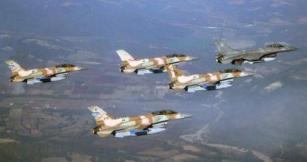 İsrail uçakları Gazze'yi bombaladı!