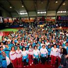 Pilates yapan dört bin kadına eşofman
