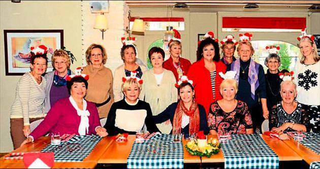 Yerleşik yabancıların Noel yemeği