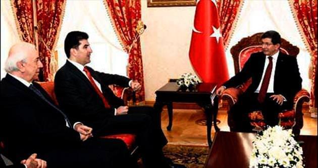 Barzani yine destek istedi