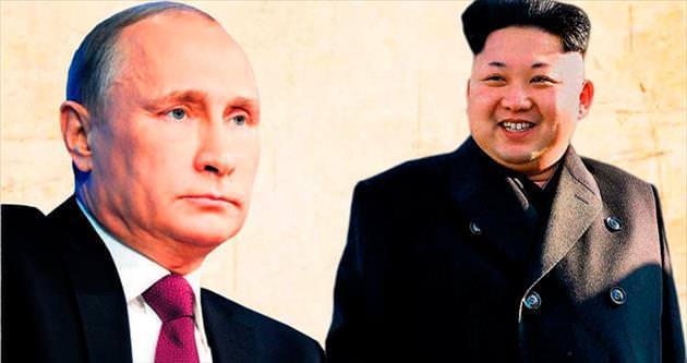 Putin'den Kim'e davet