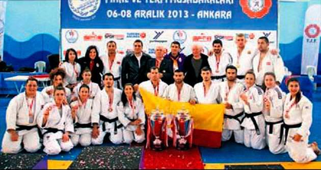 Galatasaray judoda tarih yazdı