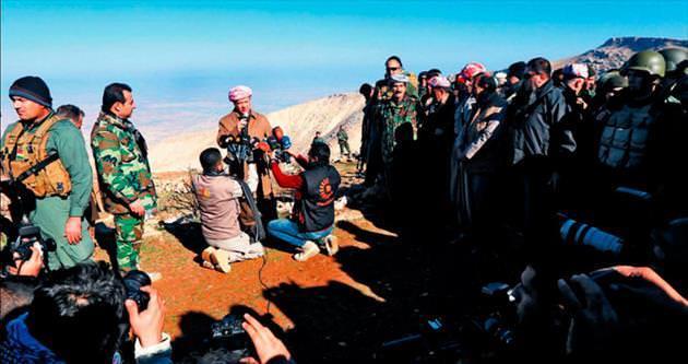 Barzani'den zafer konuşması