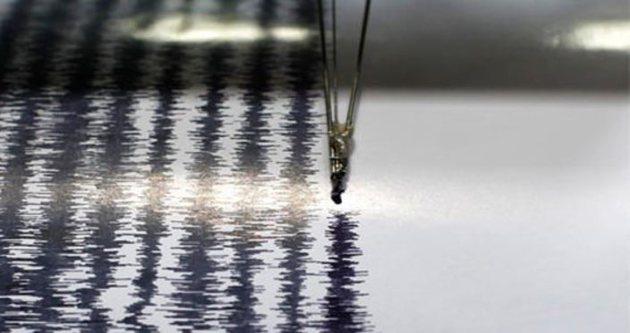 Son depremler Akdeniz'de deprem