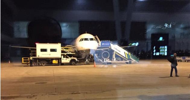 Uçak seferlerine sis engeli