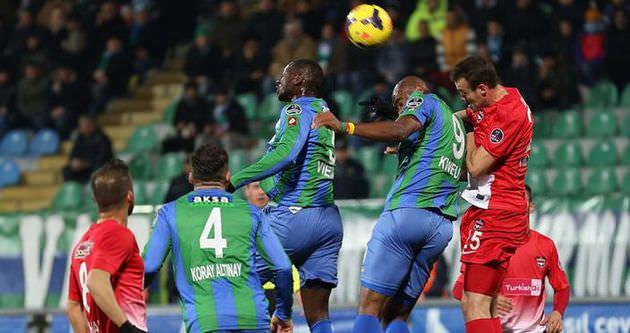 Gaziantepspor 1 attı 3 aldı