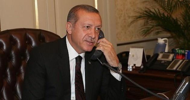Erdoğan Juncker'ı tebrik etti
