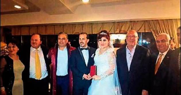 Gazeteci Şen'in kızı dünya evine girdi