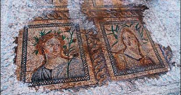 Roma hamamı gün yüzüne çıkarıldı