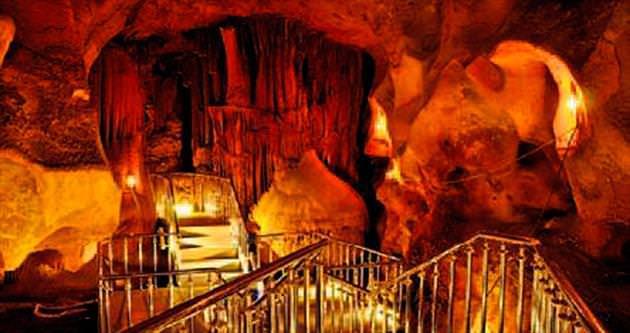 Taşkuyu Mağarası ziyaretçilerini bekliyor