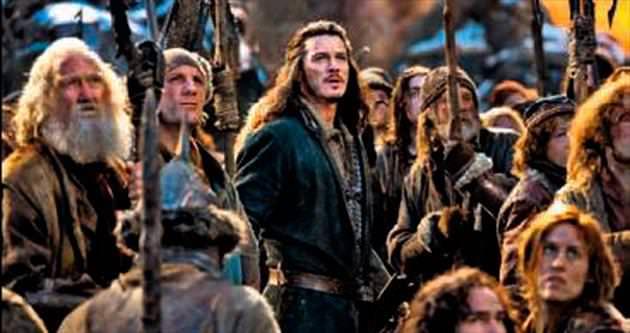 'Hobbit'ten ilk beş gün izleyici rekoru