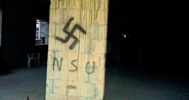 Camiye Nazi amblemi