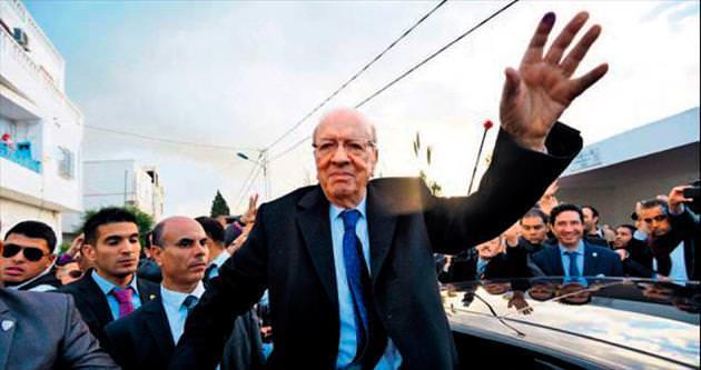 Tunus'ta zafer Sebsi'nin