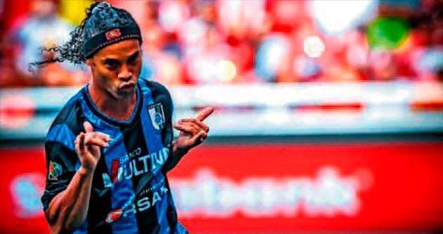 Ronaldinho 15 gündür arazi!
