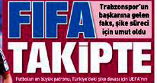 Ve FIFA süreci başladı
