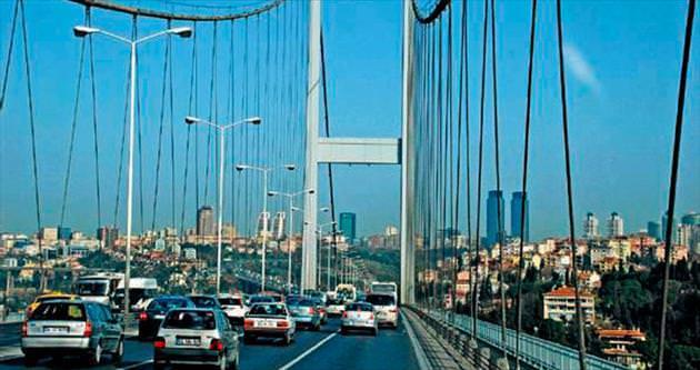 Köprülerin bakımı 2015'te bitecek
