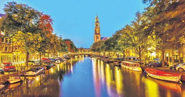 Özgür ve zarif Amsterdam