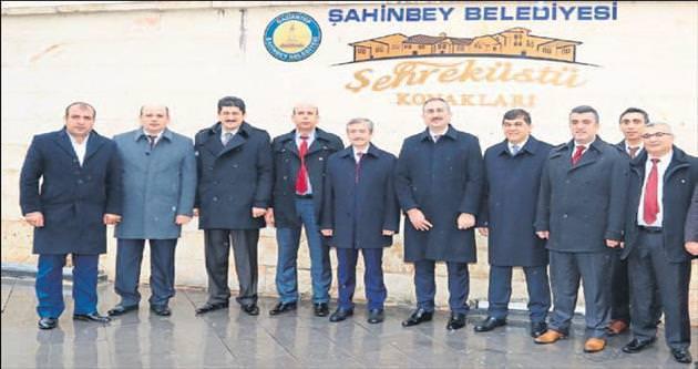 Şahinbey Belediyesi tarihe önem veriyor