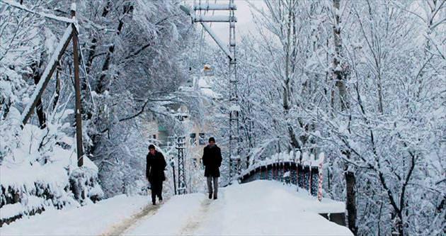 Doğu'da kar vakti