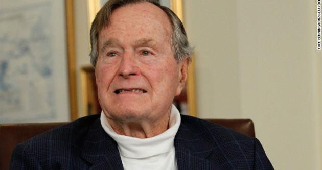Eski Başkan Bush hastaneye kaldırıldı