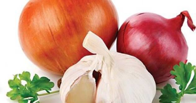 Kalp sağlığı için soğan, sarımsak yiyin!