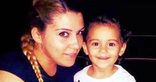 2,5 yaşındaki kızının cenazesine sokulmadı