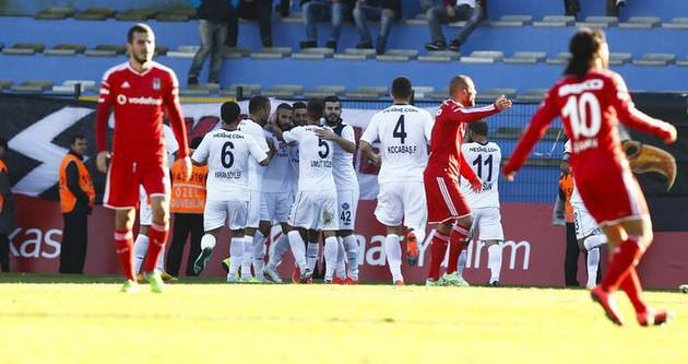 Beşiktaş'a kupada soğuk duş!