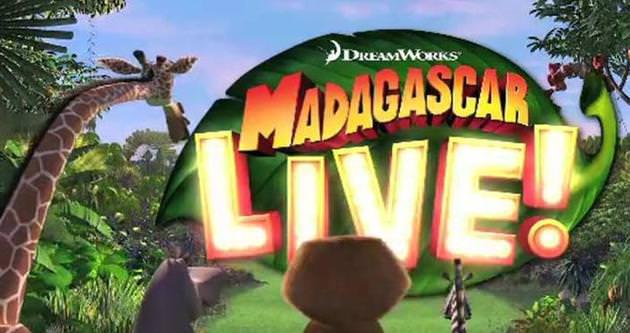 'Madagascar Live' ilk kez Türkiye'de