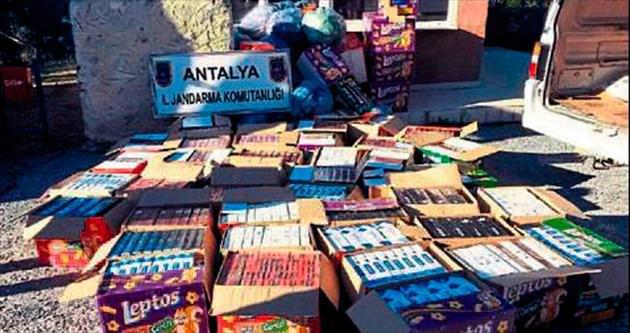 Cips kutusunda sigara kaçakçılığı
