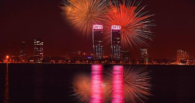 Yeni yıl sürprizleri Folkart Towers'tan