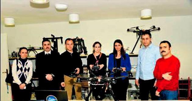 Arnavutluk heyeti 'flycam'lere bayıldı
