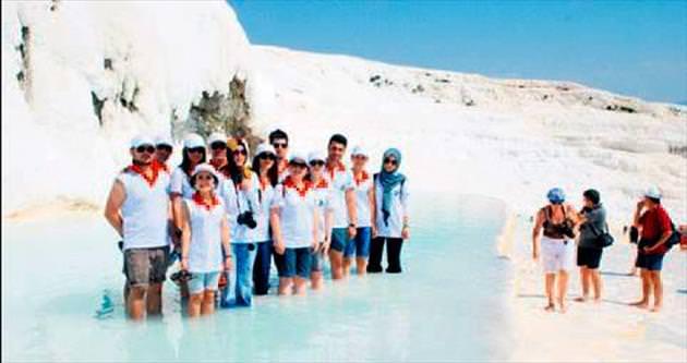 Ege'de en çok turisti Pamukkale ağırladı