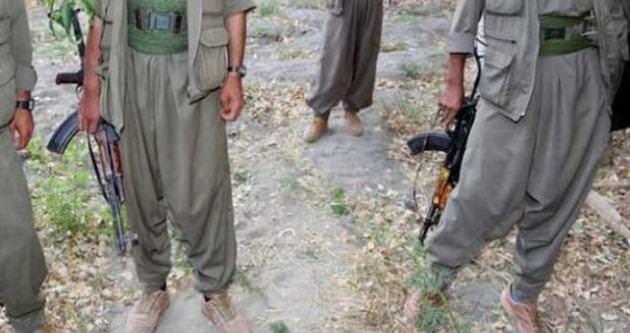 Teslim olan PKK'lılar mühimmatın yerini gösterdi