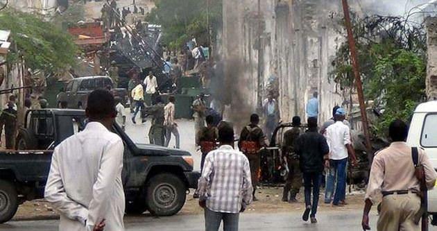 Somali'de Barış Gücü üssüne saldırı