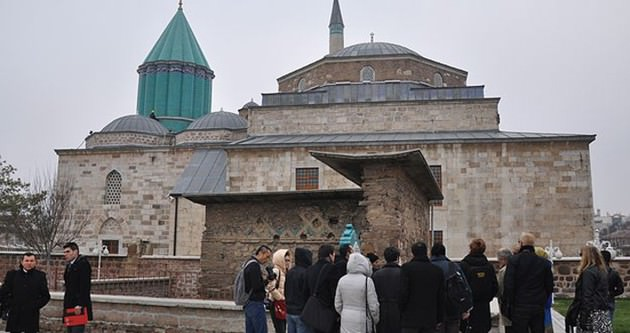 Mevlana Müzesi Şeb-i Arus'ta 70 bin kişiyi ağırladı