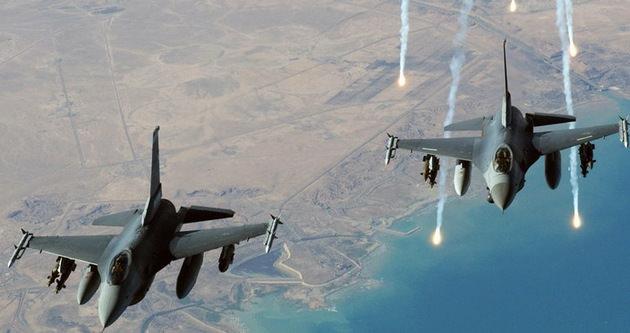 Amerika'dan IŞİD mevzilerine 17 hava saldırısı