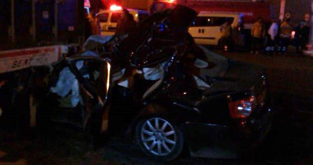 Mersin'de korkunç kaza: 5 ölü