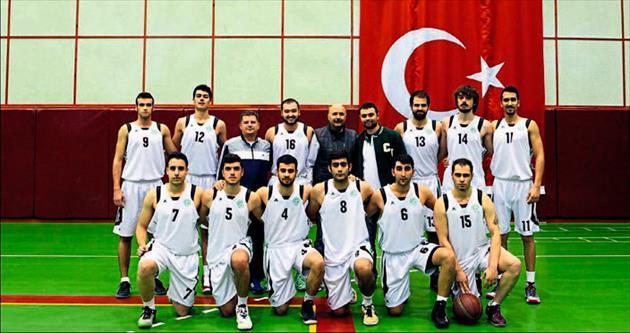 ÇÜ'de basketbol şöleni