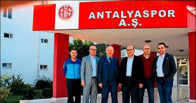 Tekirovaspor'dan Antalyaspor'a anlamlı ziyaret