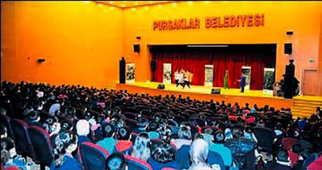 Tiyatro eşliğinde çevrecilik eğitimi