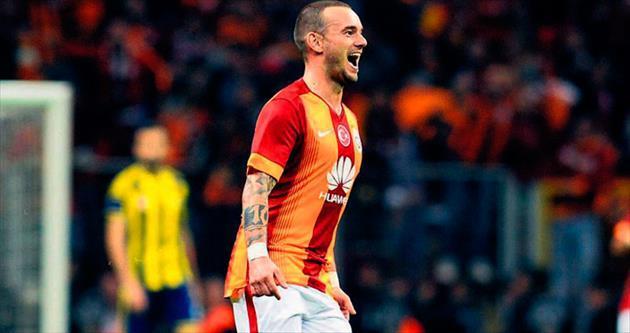 Sneijder kadro dışı!