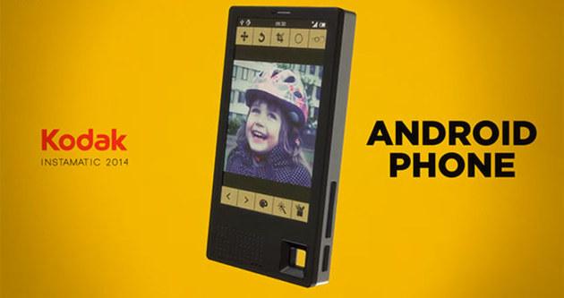 Kodak da telefon yapıyor