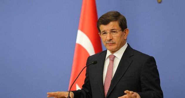 Başbakan Davutoğlu'dan bir ilk!